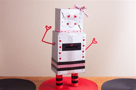 s day box how to make a robot s day box with pictures ehow