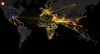 Immigration World Map by All The World S Immigration Visualized In 1 Map Metrocosm