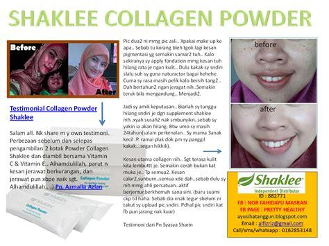 Ahli Collagen Powder Shaklee sihat itu nikmat health bisnes family untuk rasa lebih sihat kulit lebih muda menawan