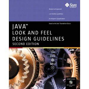 java design guidelines java look and feel design guidelines free computer