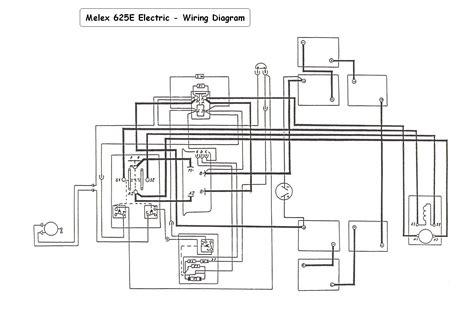 melex golf cart wiring diagram 30 wiring diagram images