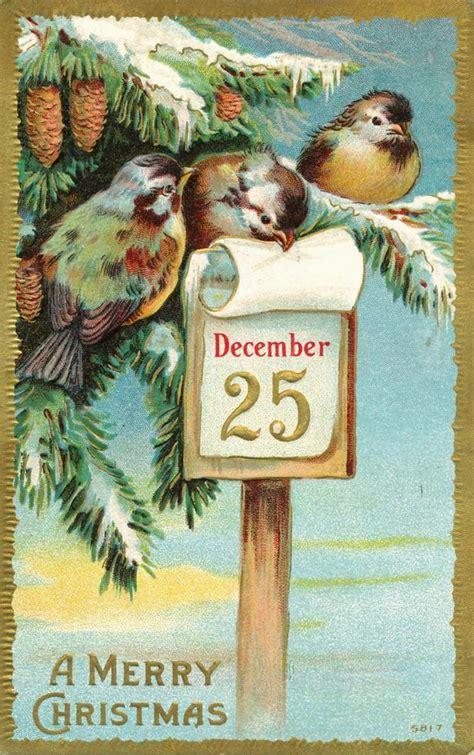 feathered nest merry christmas dear friends