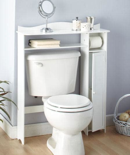 bathroom wooden the toilet table shelf storage white