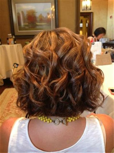 beach wave perm on short hair shorts curls and my hair on pinterest