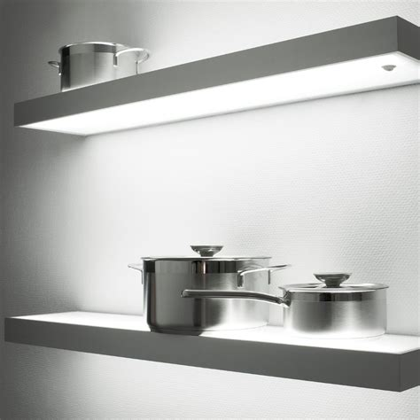 Shelf Lighting by Illuminated Led Box Shelf