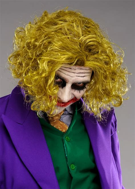 Adult Size Messy Green The Joker Style Wig