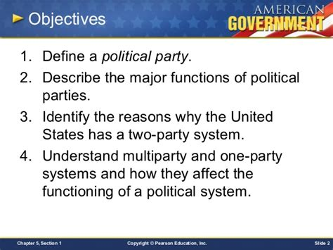 chapter 5 section 5 party organization chapter 5