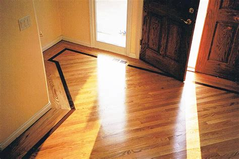Floor Description by Richard Walczak Flooring Hardwood Floor Custom Border