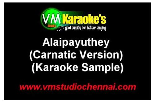 alaipayuthey kanna song ringtone free download