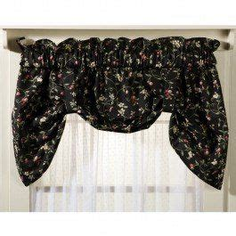 black pattern valance 23 best images about swags valances on pinterest