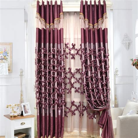 rose drapes vintage rose curtains made of poly and cotton blended material
