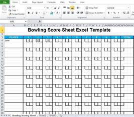 scoreboard excel template bowling score sheet image titled score bowling step 4 how