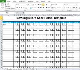 tally sheet excel template bowling score sheet excel template excel tmp