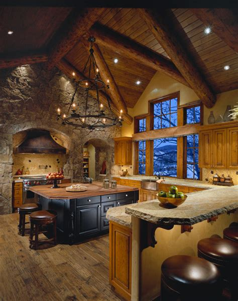 Colorado Kitchen Designs Colorado Mountain Home Traditional Kitchen By Design Directives Llc