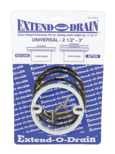 Shower Drain Extender by Extend O Drain Drain Extension Kit Tiletools