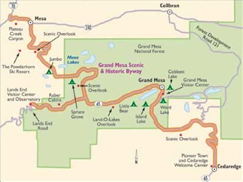 colorado scenic drive: grand mesa scenic byway | howstuffworks