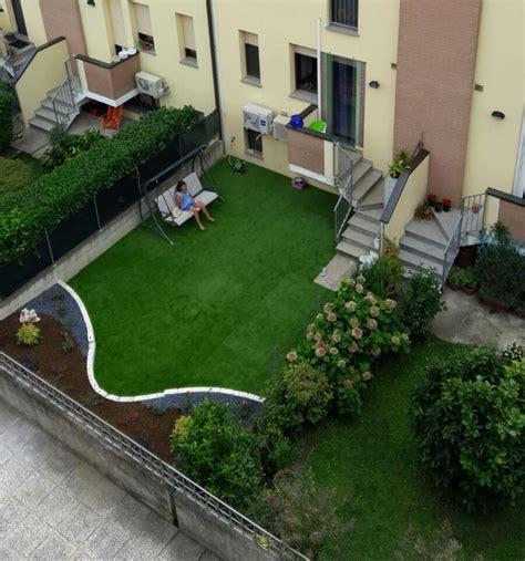 giardino senza prato prato sintetico piccoli spazi bonfante giardini