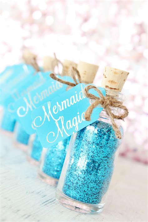 Glitter Baby Shower Theme by Mermaid Baby Shower Favors Glitter Baby Shower Ideas