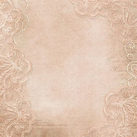 tumblr themes vintage lace vintage background with lace and pearls stock photo