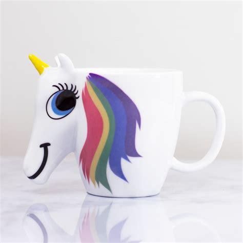 Colour Changing Unicorn Mug   FIREBOX
