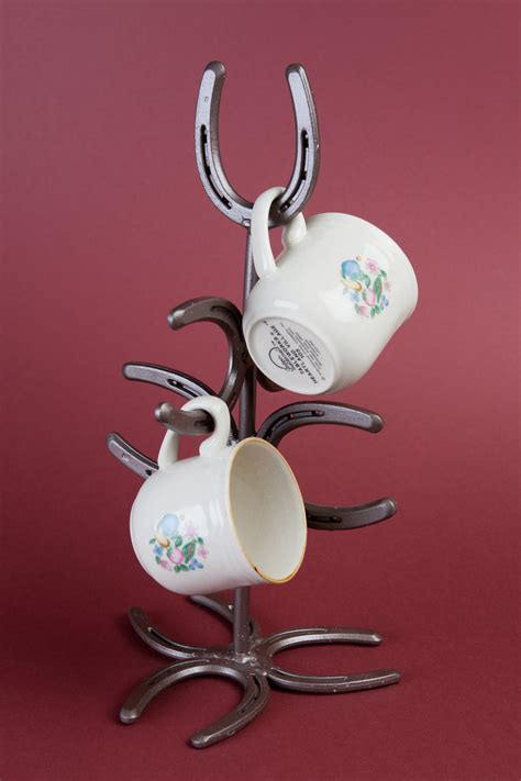 Horseshoe Mug Tree Coffee Mug Rack Coffee Cup Holder