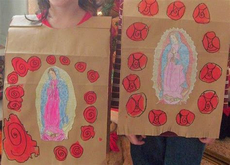 catholic crafts juan diego and our of guadalupe crafts and feast day