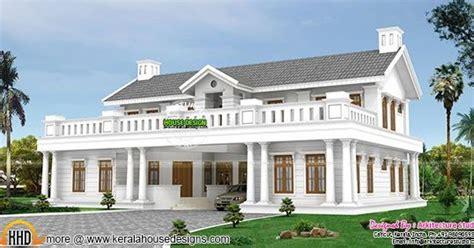 home parapet designs kerala style 478 sq m colonial style villa in kerala kerala home design and floor plans
