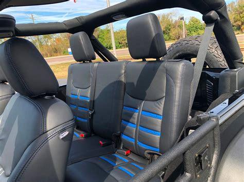 jeep jk heated seats 2018 jeep wrangler jk unlimited rubicon black n blue