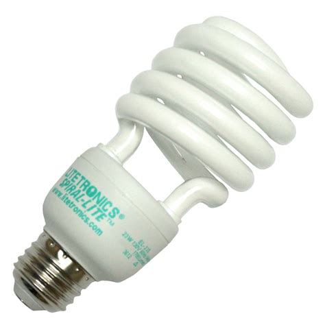 Twist Light Bulb by Litetronics 62310 El 23550 Twist Medium Base