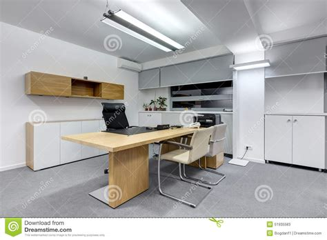 Kitchen In Office Building Modern Office Desk Stock Photo Image 51935583
