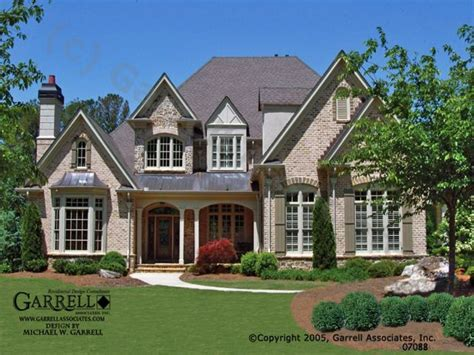 French Country House Plans With Front Porches Country Ranch House Plans French