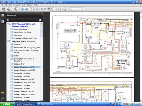 manual repair free 1972 ford thunderbird security system forel publishing llc 1972 colorized mustang wiring vacuum diagrams cd