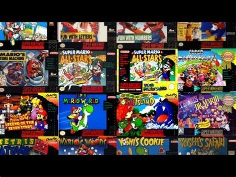 top 10 snes games youtube