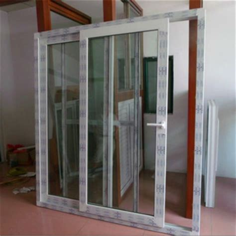 3 Track Two Panels Pvc Patio Sliding Doors Kitchen Panel Pvc Patio Door