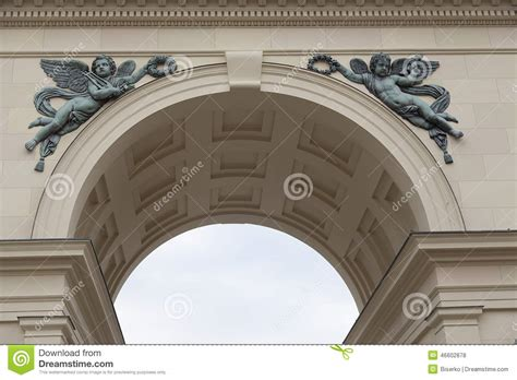 Arc Decoration by Arc Decoration Stock Photo Image Of Triumph Academy