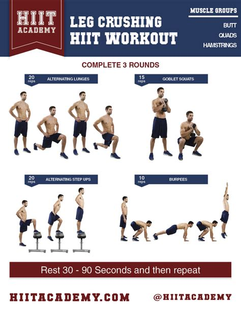leg workouts for images
