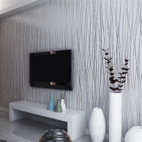 grey white silver luxury modern wall paper stripe striped