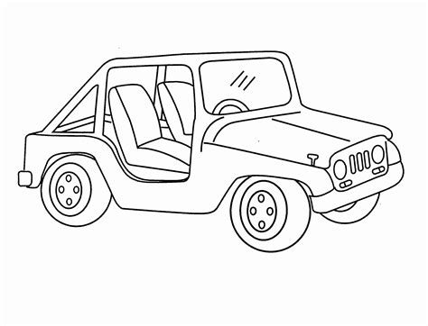 jeep coloring pages jeep wrangler coloring pages collection coloring pages