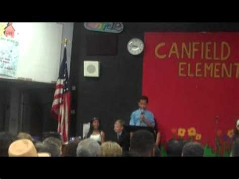 marcus scribner graduation marcus scribner 5th gr graduation speech youtube