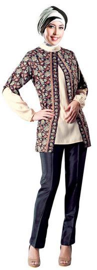 Celana Kulot Wanita Dixa 2 Muslim Remaja Modern Trendi Unik Lucu contoh model baju batik muslim untuk remaja terbaru 2017