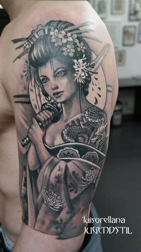 geisha tattoo no braço 25 melhores ideias sobre tatuagem japonesa no pinterest