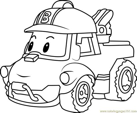 robocar poli coloring pages games bucky coloring page free robocar poli coloring pages
