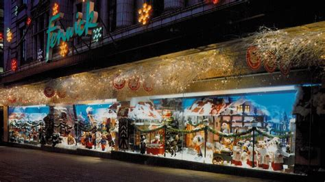 bbc news in pictures 40 years of fenwick festive window