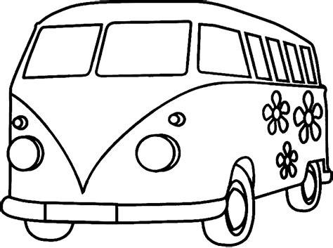 Schablone Auto Malen by Ausmalbilder Vw Bus Vw Pinterest Ausmalen Malen Und