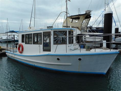 used fishing boat for sale qld mackeral 33ft fishing boat power boats boats online for