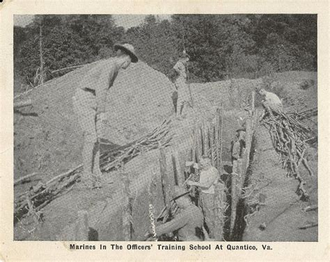Trench Warfare Part Deux by Trench Warfare A Big Part Of Quantico S History Gt Marine