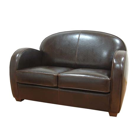 canape interiors canap 233 cuir steed marron interior s