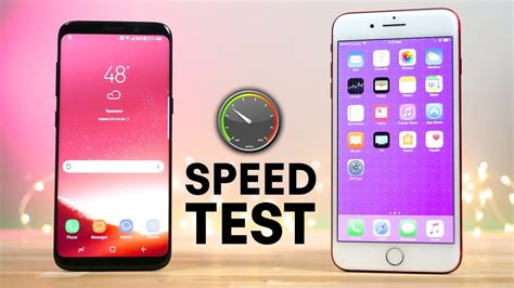 Samsung Iphone 7 samsung s8 vs iphone 7 real world speed test