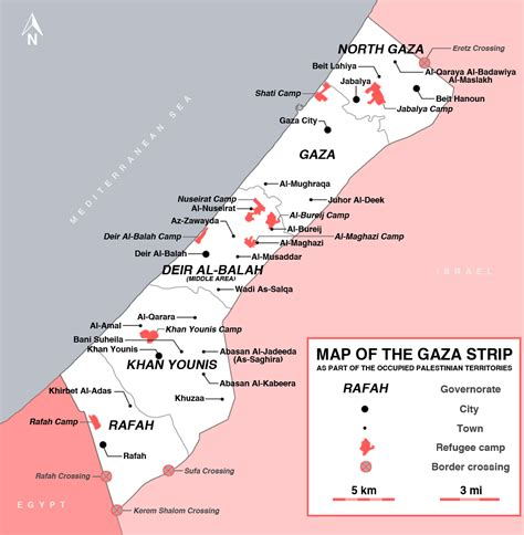 gaza map maps of gaza detailed map of gaza in
