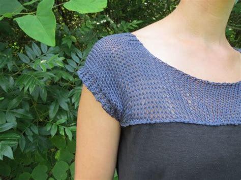 yoke knitting pattern knit and crochet yokes for tops dresses 11 free